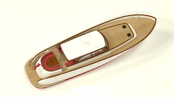 Hoek chase boat for sailing superyacht
