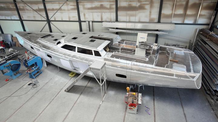 Hoek 76 ketch sailing superyacht