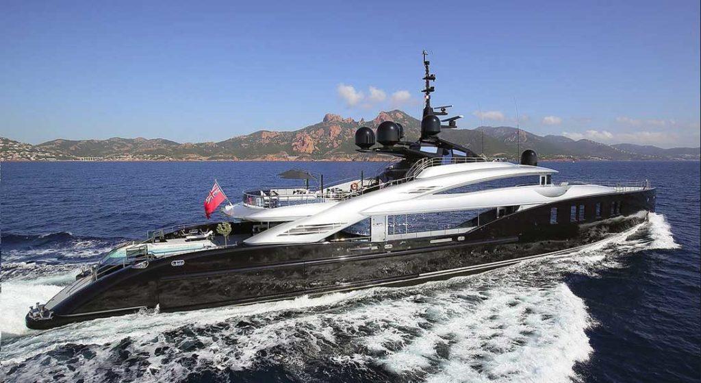 ISA Yachts Okto The Superyacht Show