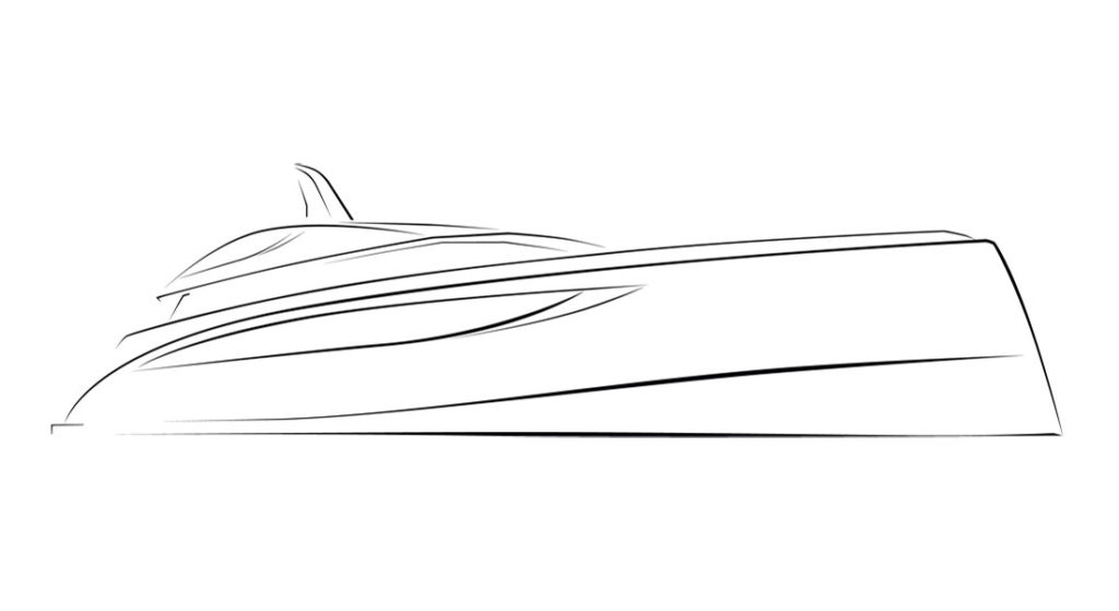 77-meter Nobiskrug megayacht Winch Design Sinot Exclusive Yacht Design Black Shark