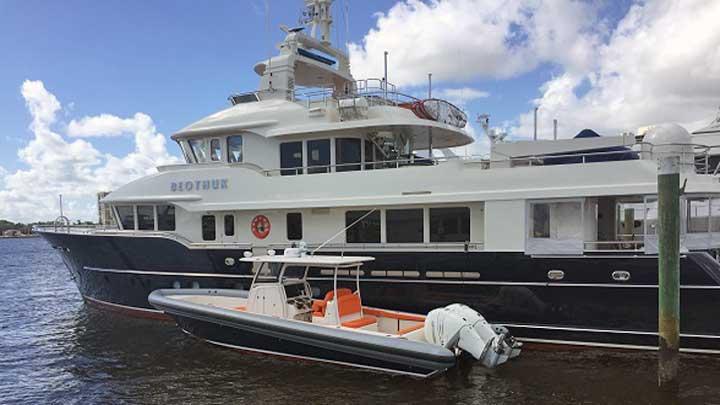 Ocean 1 yacht tender Beothuk megayacht