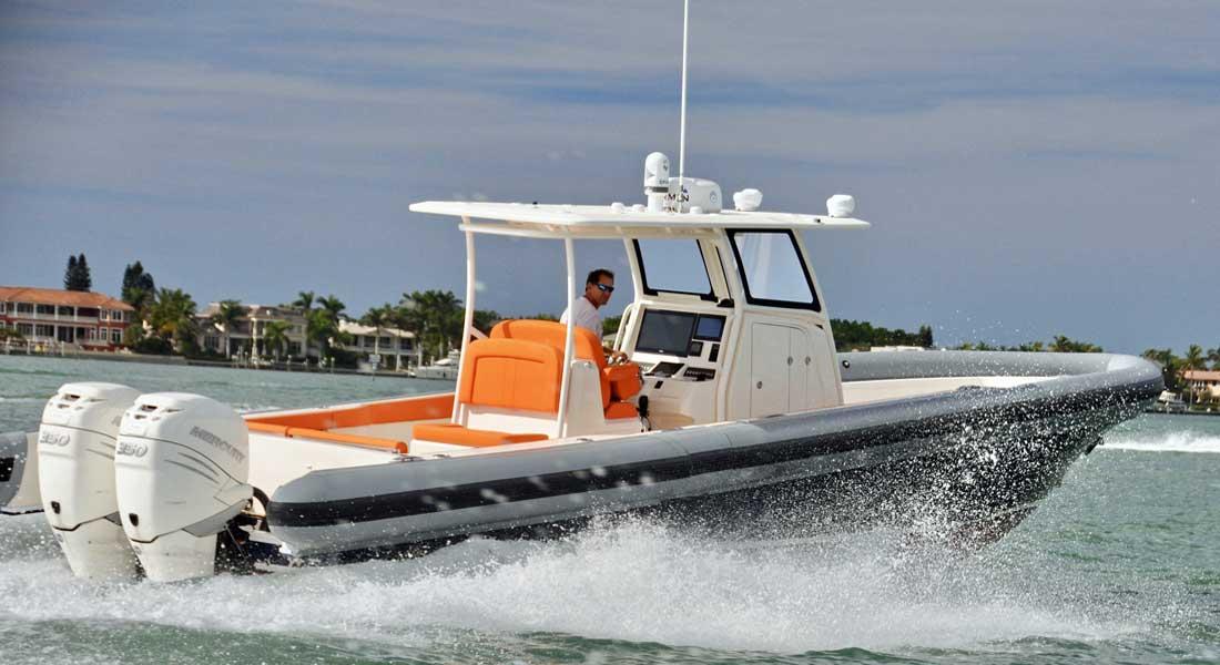 Ocean 1 megayacht tender hull 4