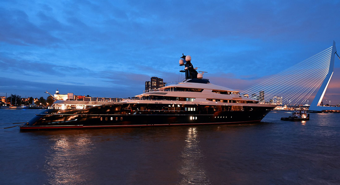Oceanco Equanimity megayacht delivery owner Jho Low