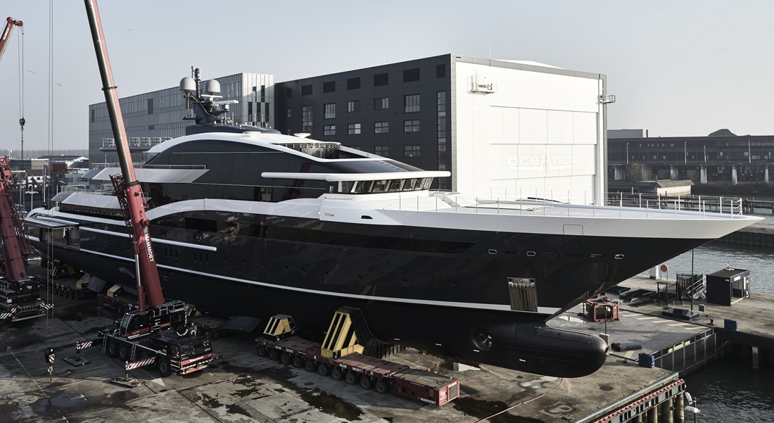 Oceanco megayacht Project Shark Y717