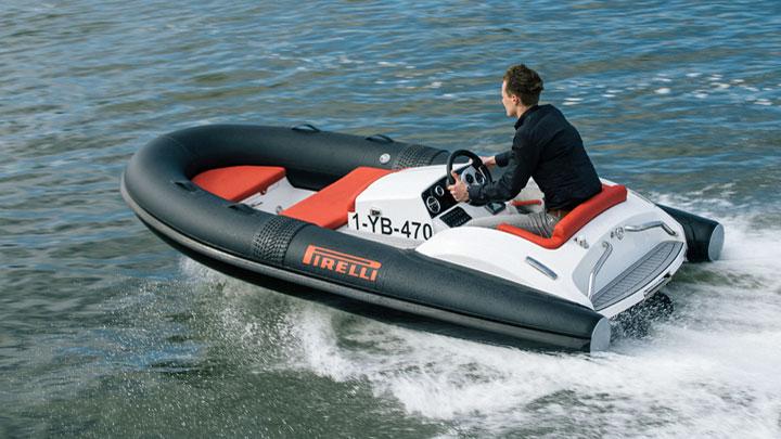 Tecnorib Pirelli J33 tender for Azimut megayachts