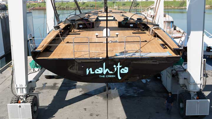Wally 93 sailing superyacht Nahita