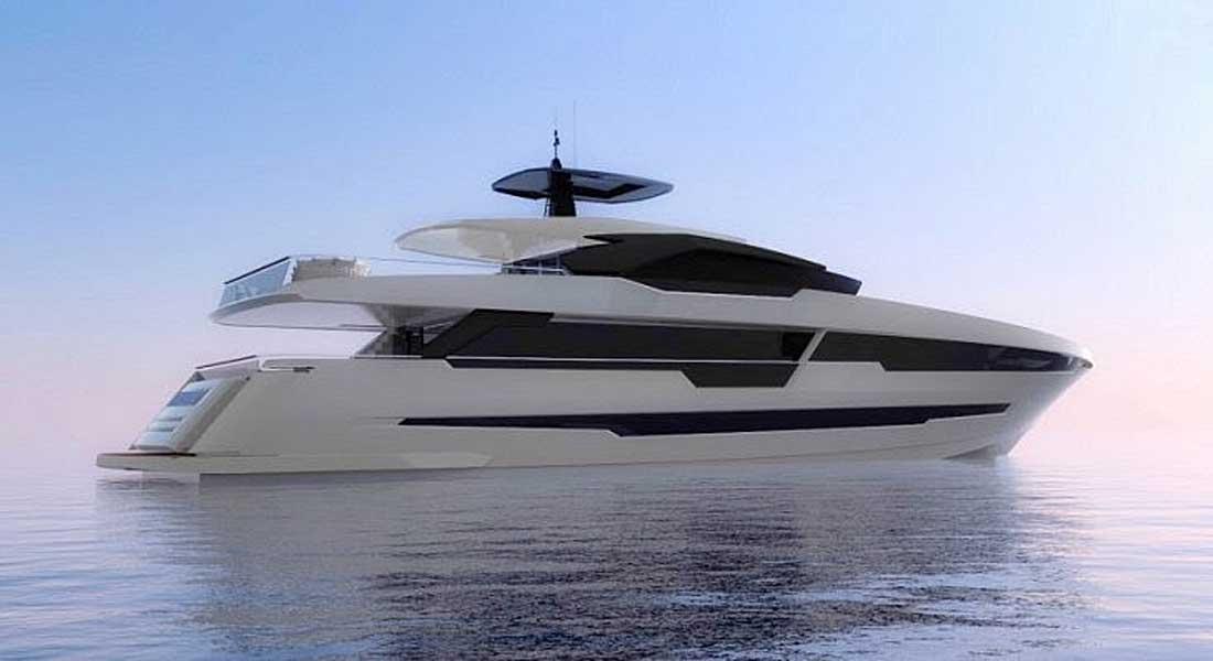 Astondoa 120 Century megayacht rendering