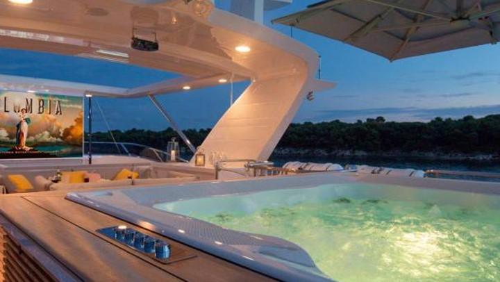 megayacht DynaR Monaco Grand Prix superyacht charters