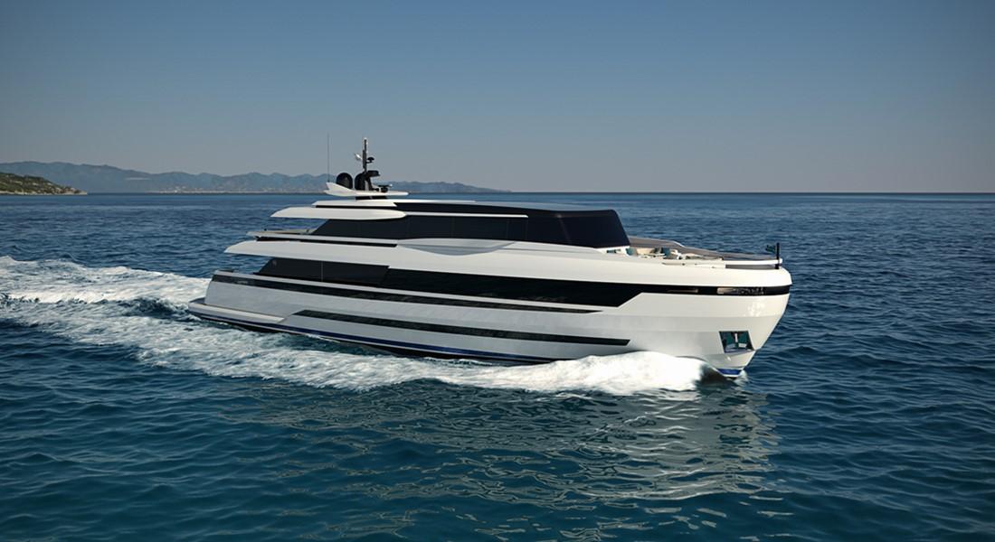 ISA EXTRA 126 megayacht
