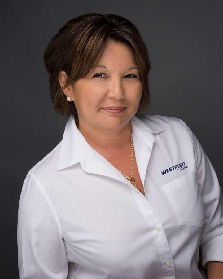 Westport Yacht Charters megayacht specialist Kim Vickery