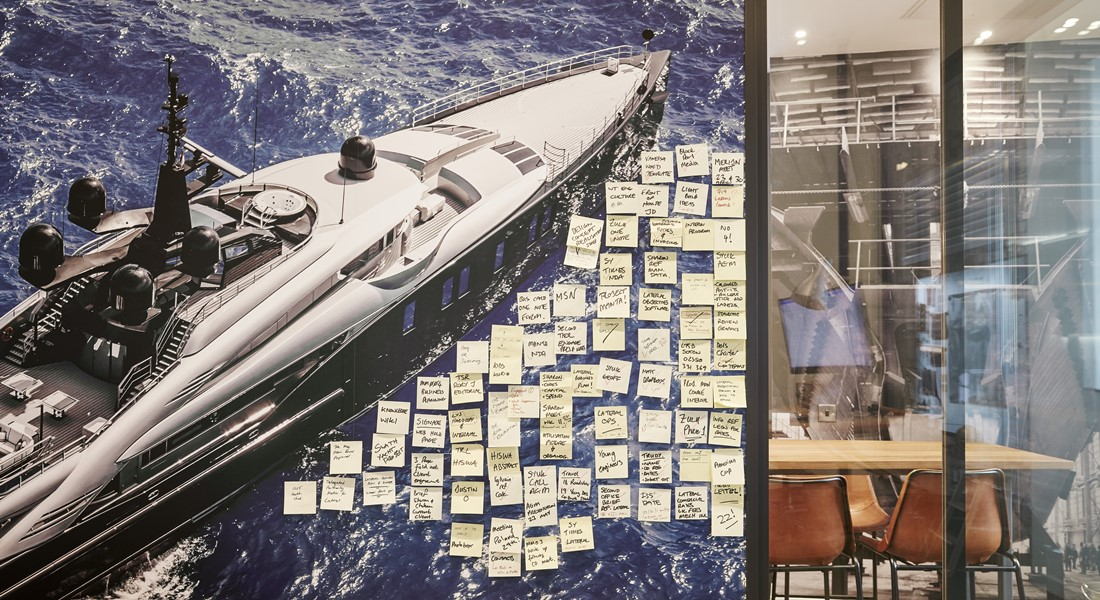 Lateral Naval Architects superyacht