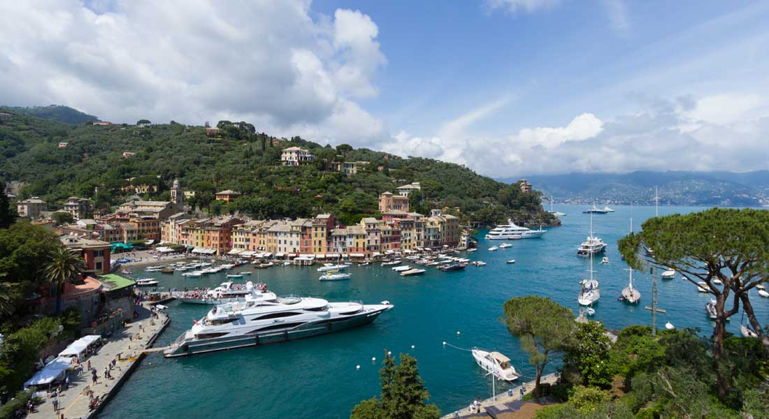Marina di Portofino is in Italy; the European Union says VAT reductions on charter can no longer apply to megayachts in 2020
