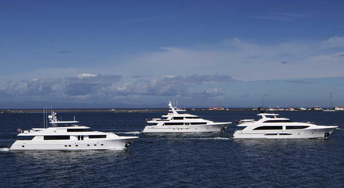 Westport Yacht Charters megayacht series