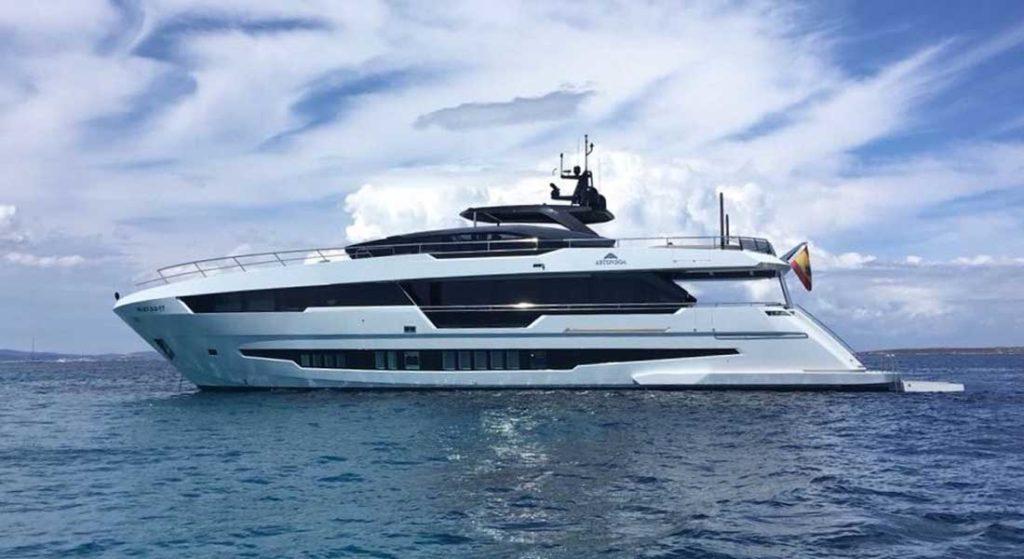 Astondoa 100 Century megayacht