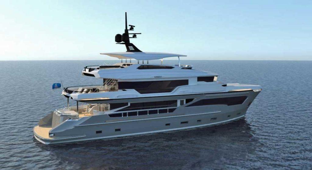 Kando megayacht AvA Yachts
