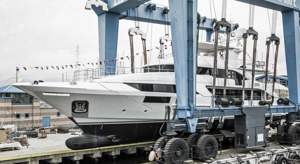 Benetti Classic Supreme 132 megayacht hull number 11
