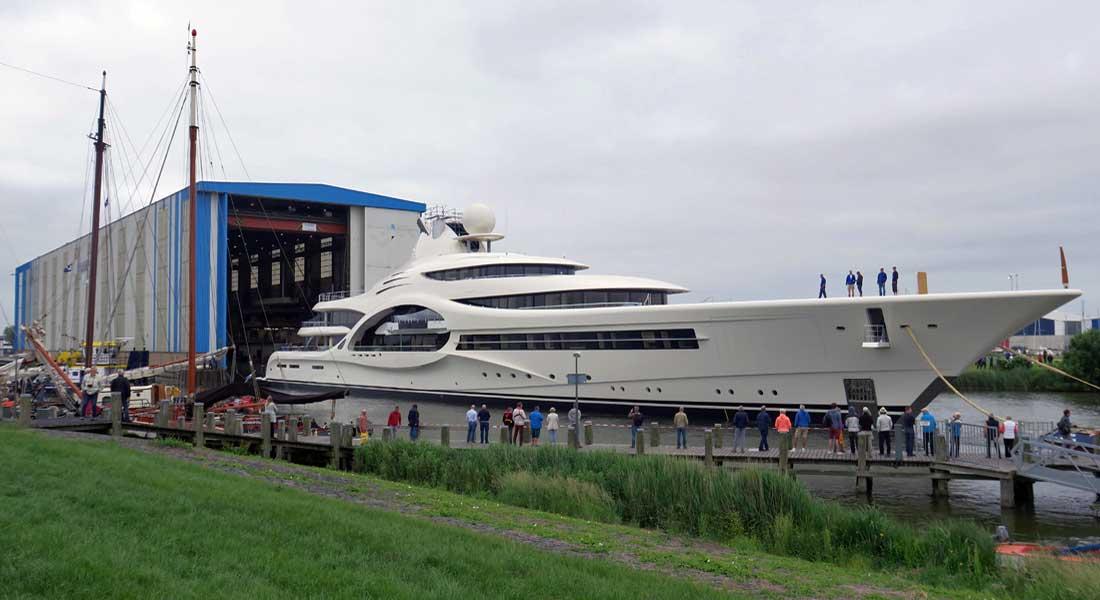 Feadship Project 1007 megayacht Anna