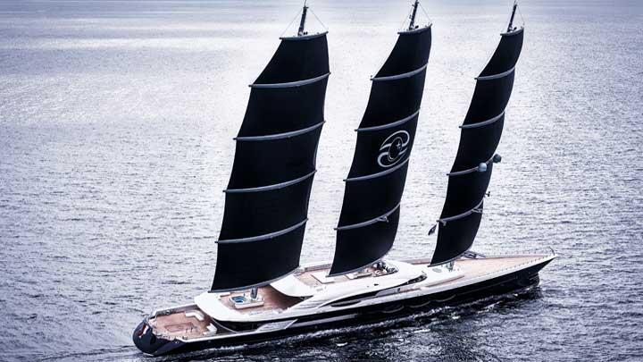superyacht Black Pearl's Hybrid Solution largest megayacht deliveries
