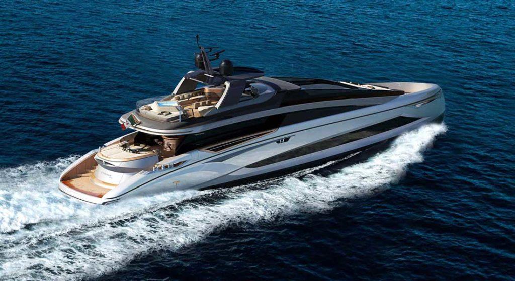Tecnomar Evo 120 megayacht The Italian Sea Group