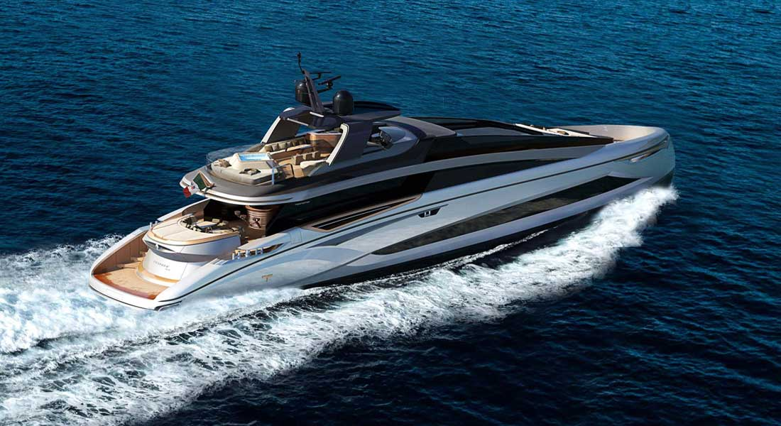 Tecnomar Evo 120 megayacht The Italian Sea Group