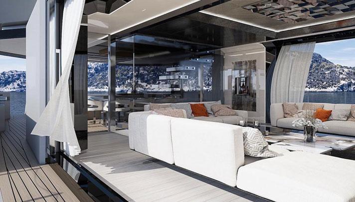 Arcadia A105 RJ Hot Lab megayacht