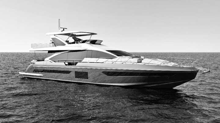 Azimut Grande 25 Metri small superyacht world premieres