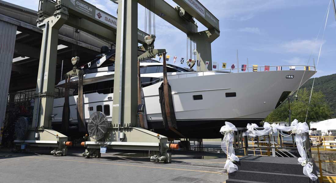 Balance megayacht Sanlorenzo SL78