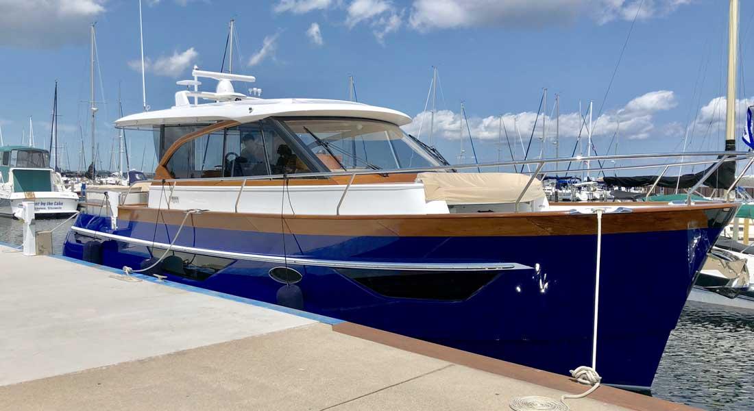 Blue Boat Home Superyacht Radio