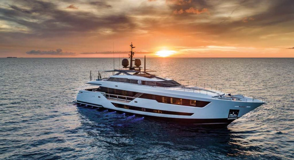 Custom Line 120 megayacht