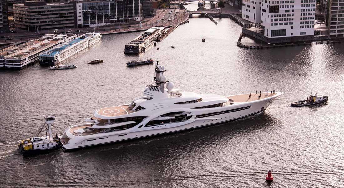 Feadship Anna Project 1007 largest megayacht deliveries