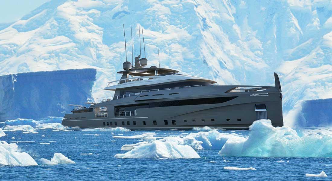 Ocea Nemo 50 Ice megayacht