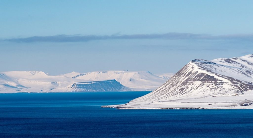 Svalbard Norway where Gene Machine superyacht cruised