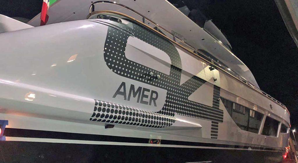 Amer 94 Twin megayacht