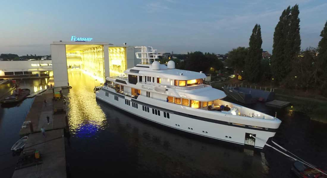 hull 701 first ice-classed Feadship megayacht