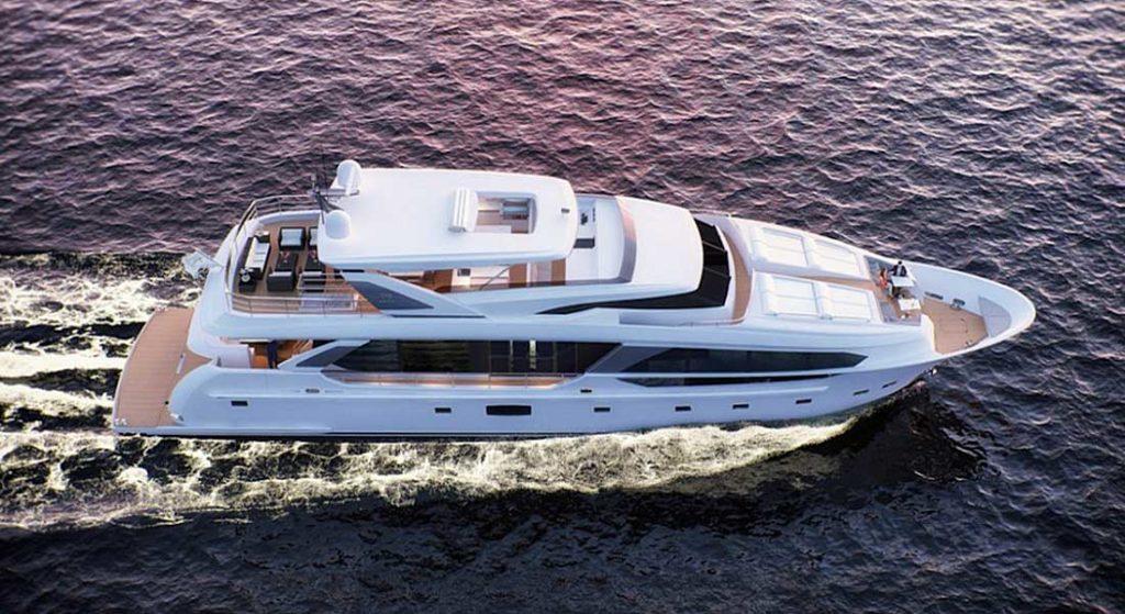 Horizon CC115 megayacht