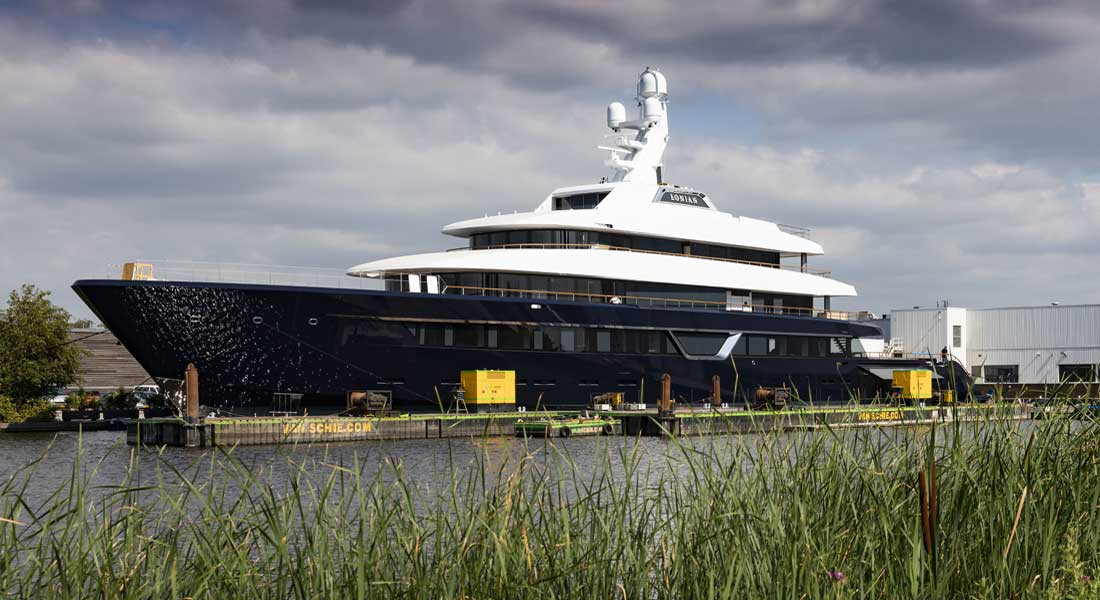 Lonian superyacht Project 700
