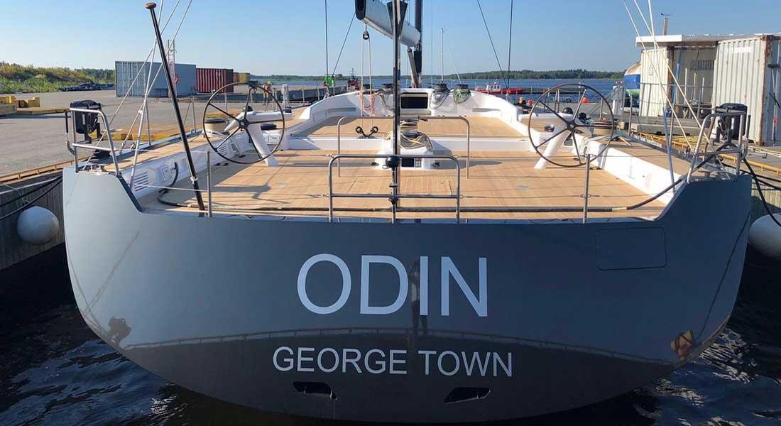 Nautor's Swan superyacht Odin Swan 115