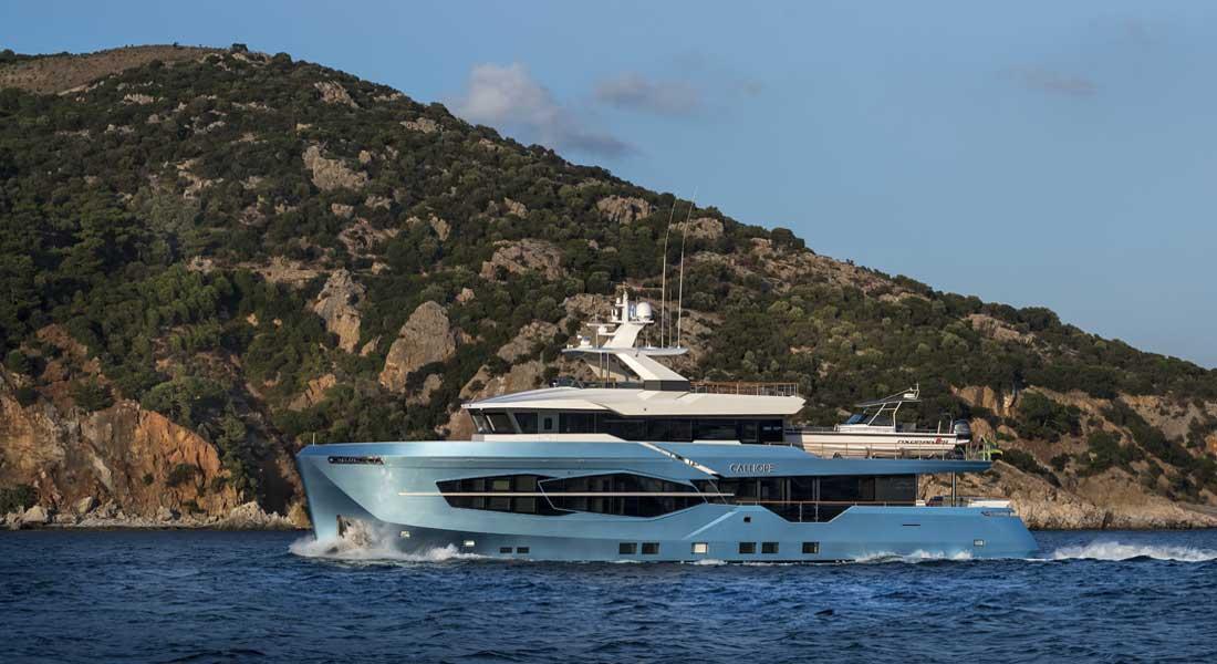 Numarine 32XP megayacht Calliope