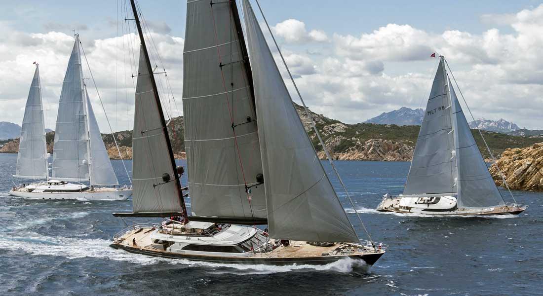 Perini Navi Cup sailing superyachts