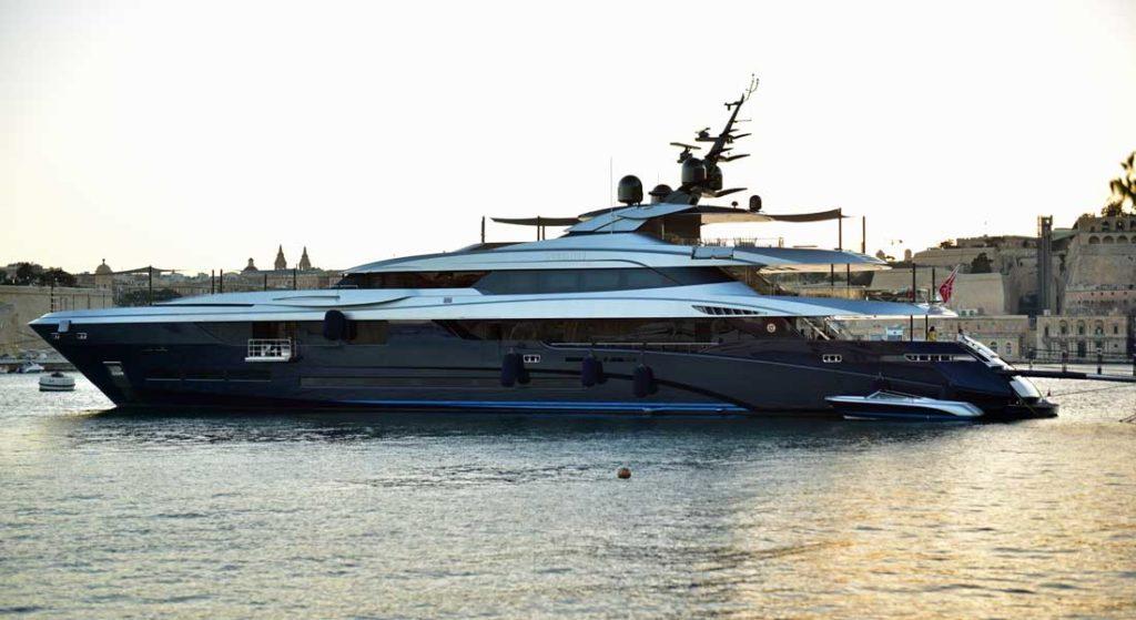 superyacht Sarastar Netflix Murder Mystery