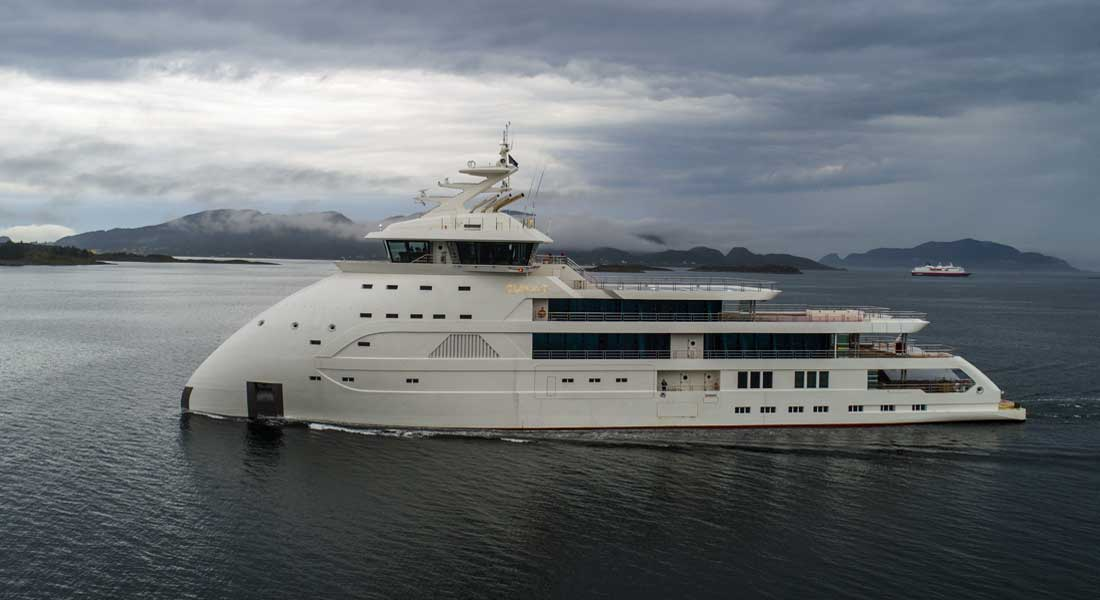 Ulstein megayacht Olivia O  is among the most anticipated megayacht deliveries of 2020
