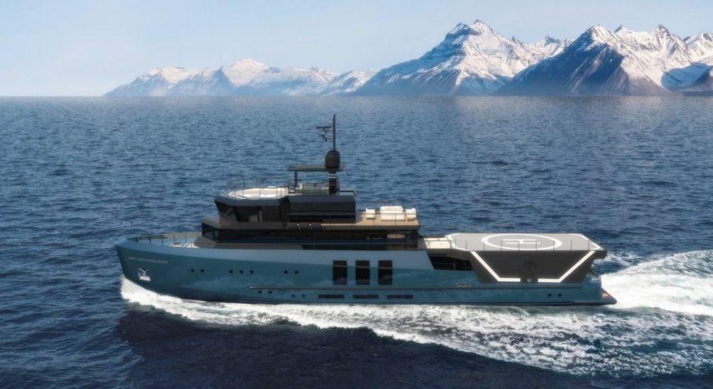 43M Baglietto Explorer megayacht