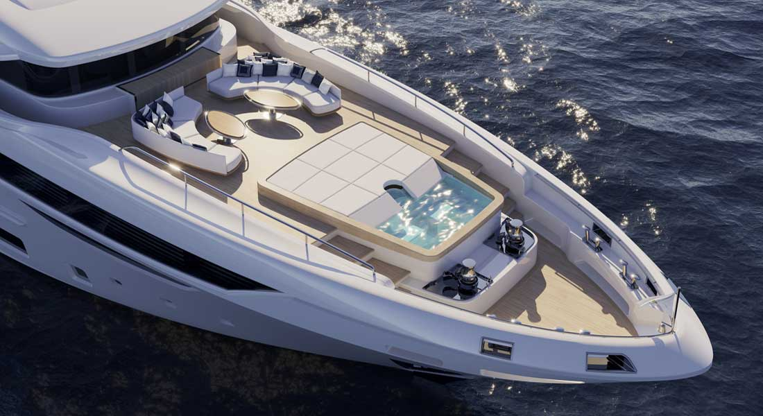 Diamond 145, Sparkling New Series From Benetti