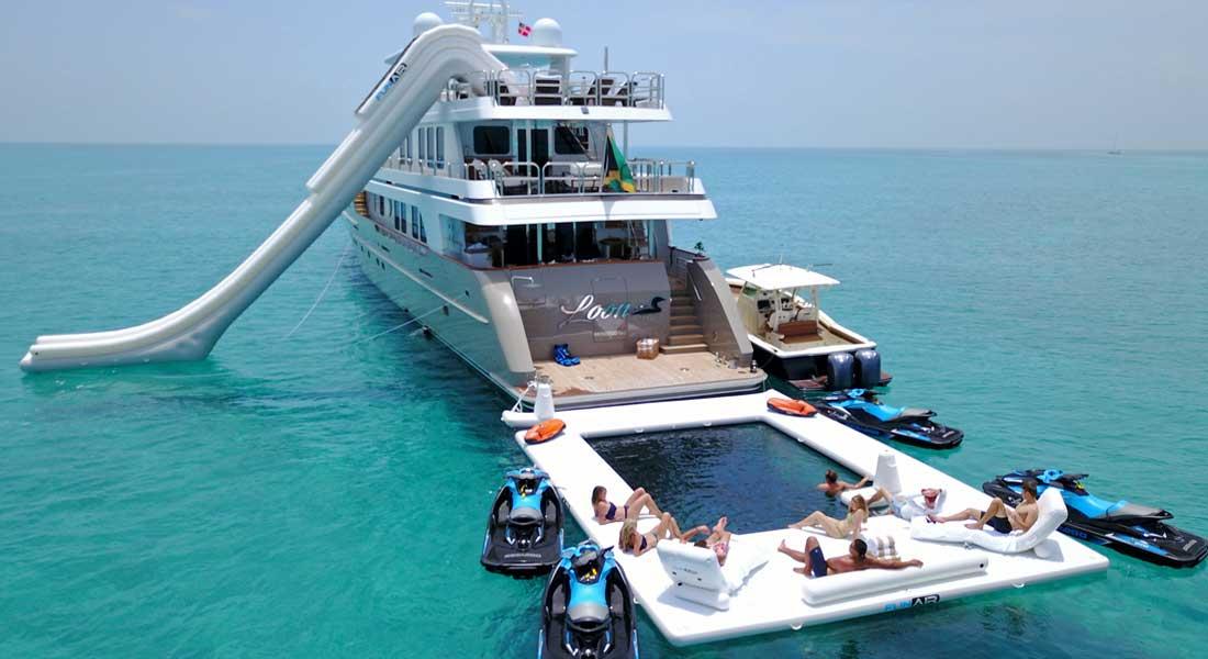 FunAir Wave Lounger for megayachts