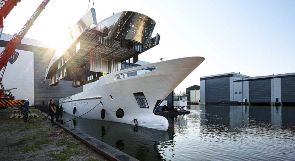 Heesen Project Triton megayacht