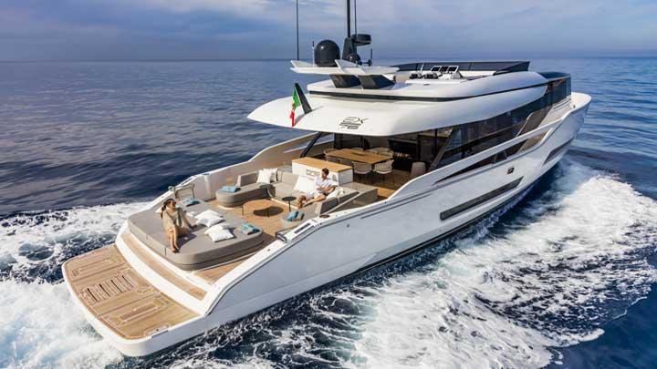 ISA EXTRA 76 megayacht ISA EXTRA 86 based on this