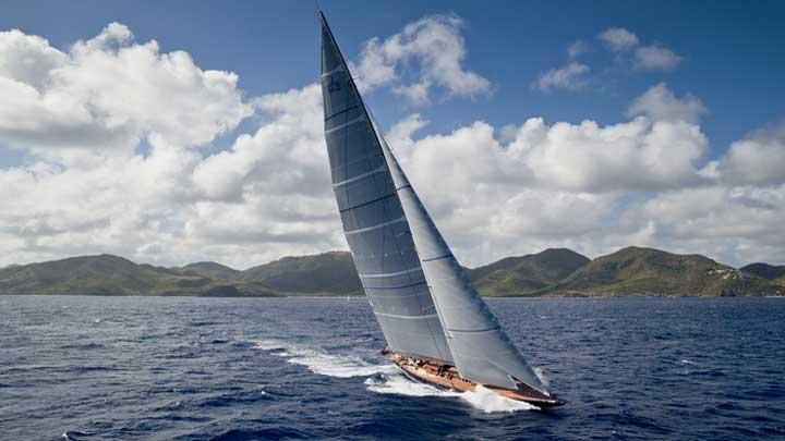 J-C;lass Rainbow superyacht