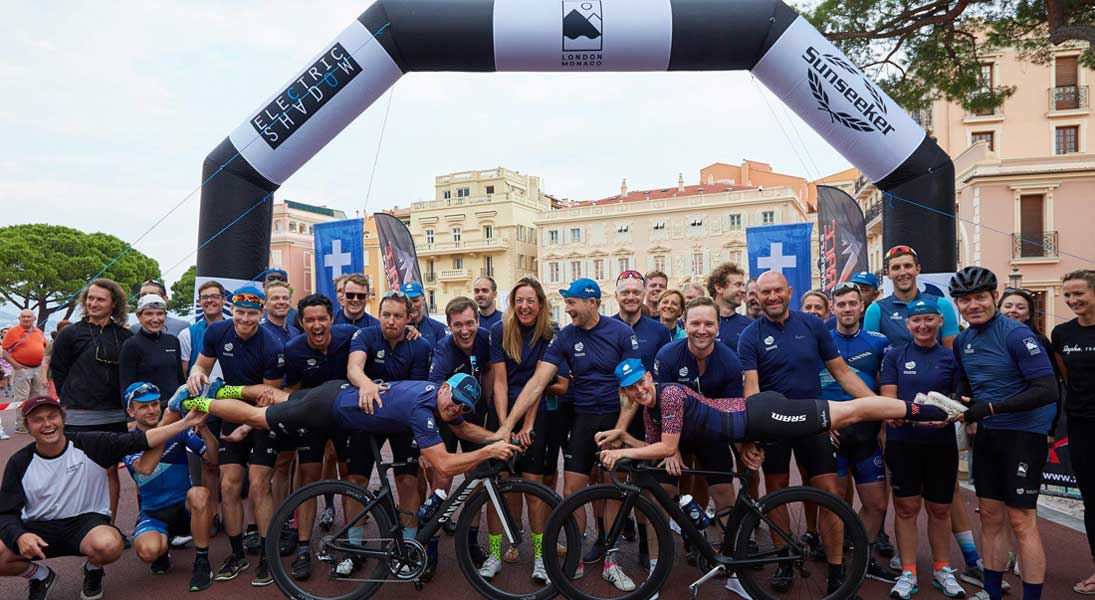 London to Monaco superyacht charity ride