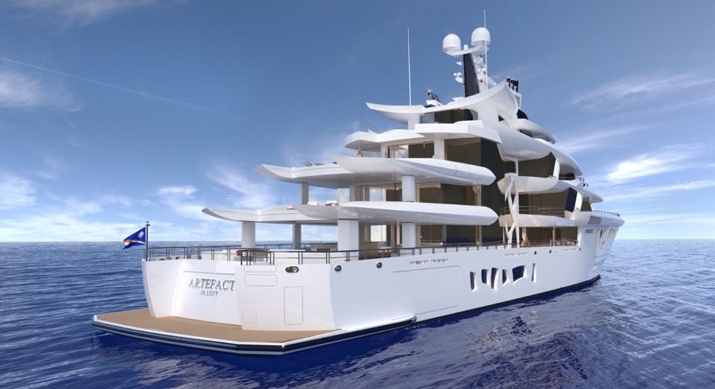 Nobiskrug superyacht Artefact most anticipated megayachts of 2019