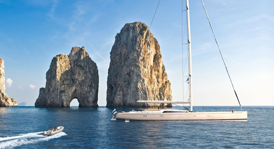Swan 120 sailing superyacht